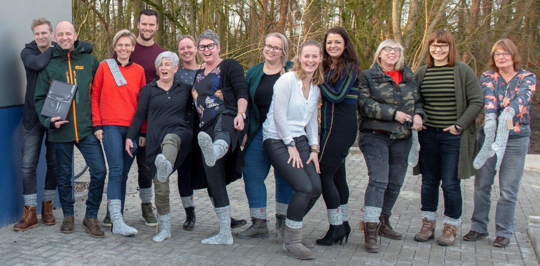 De winnaars van Het Warmste Cadeau van Nederland van Januari | OBS de Marke | Warme voeten met SOXS | Geen koude voeten meer voor de meesters en juffen | Eén grote gezellige geniale geitenwollensokkenclub | SOXS.co